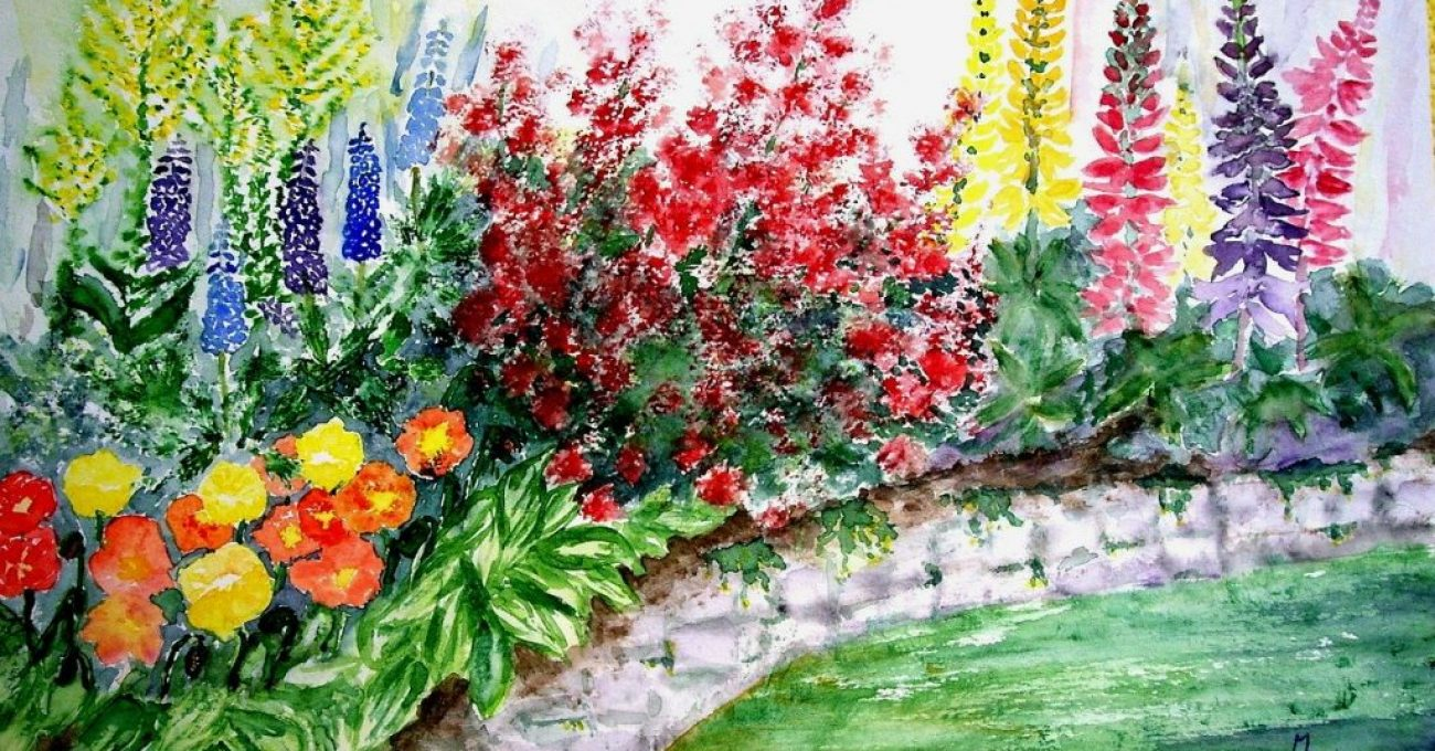 flowers-wall-painting